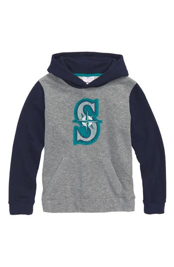 Boys Majestic Mlb New Beginnings  Seattle Mariners Pullover Hoodie