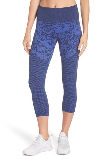 Climawear Pathway Capri Leggings, Blue