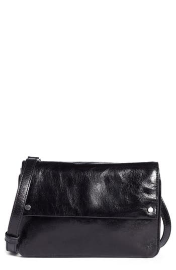 Treasure & Bond Harper Glazed Leather Crossbody Bag