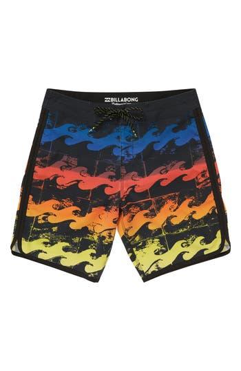 Boys Billabong 73 X Line Up Board Shorts Size S  4  Green