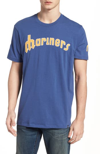 47 Mlb Vintage Fieldhouse Seattle Mariners T-Shirt, Blue