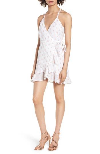 Lovers + Friends Gigi Wrap Dress, White