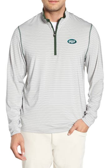 Cutter & Buck New York Jets - Meridian Half Zip Pullover