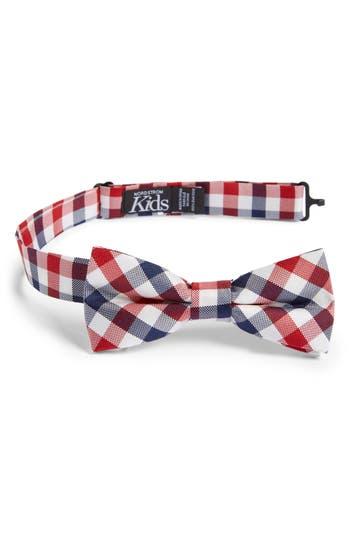 Boys Nordstrom Natte Weave Silk Bow Tie Size Big Boy  Blue