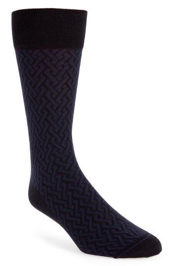 John W. Nordstrom® Intertwined Lines Socks