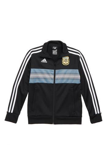 Boys Adidas Afa 3Stripes Track Jacket Size S  810  Black