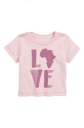 Infant Girls Peek Love Africa Tee