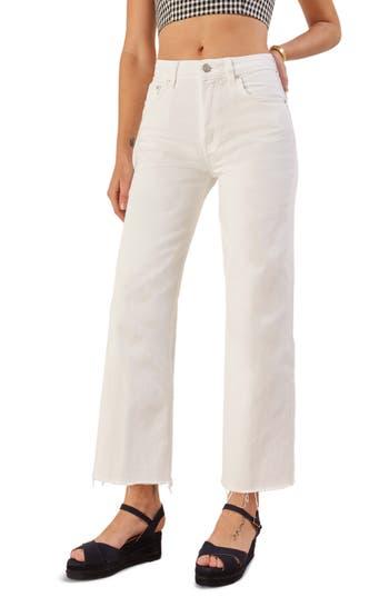 Reformation Fawcett High Waist Crop Jeans