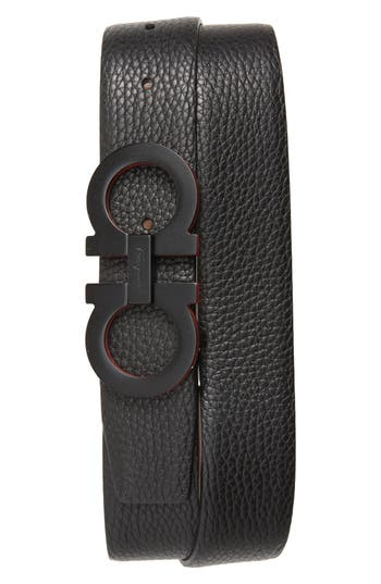 Salvatore Ferragamo Panini Leather Belt
