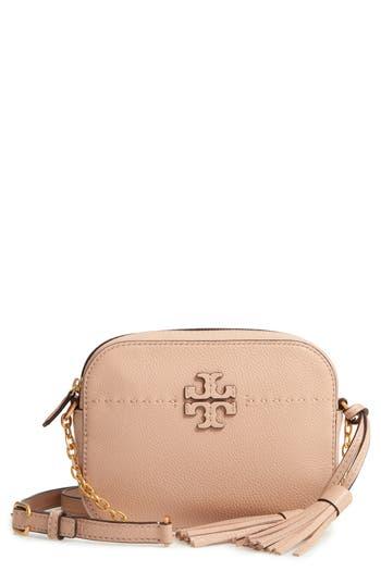 Tory Burch McGraw Leather Camera Bag