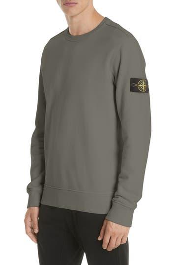 Stone Island Cotton Knit Sweatshirt
