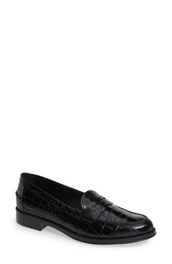 CLASSIC CROC EMBOSSED PENNY LOAFER