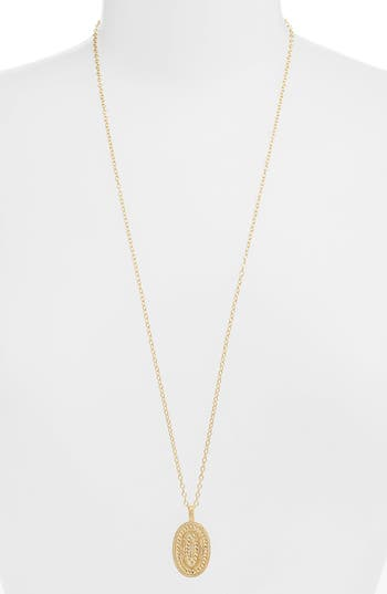 ANNA BECK BRAIDED PENDANT NECKLACE