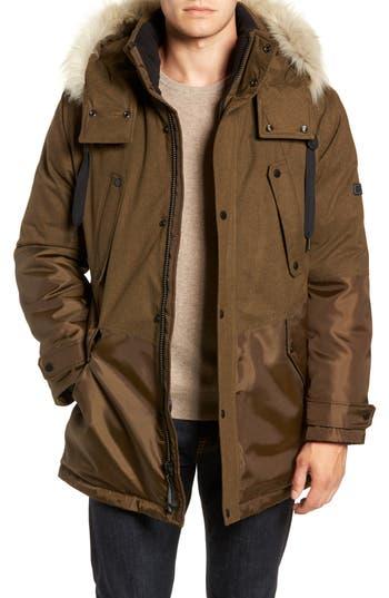 Marc New York Maxfield Faux Fur Trim Parka