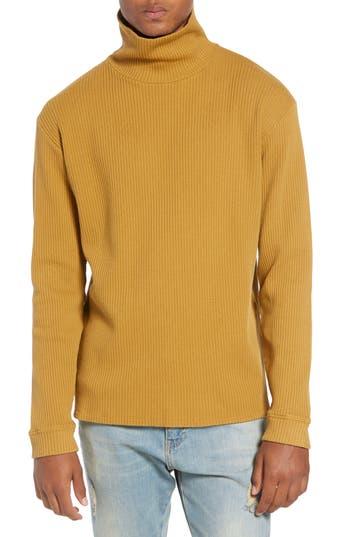 Men's Saturdays Nyc Henrik Turtleneck Sweater, Size X-Large - Brown