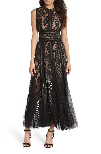 Bronx and Banco Saba Fit & Flare Gown