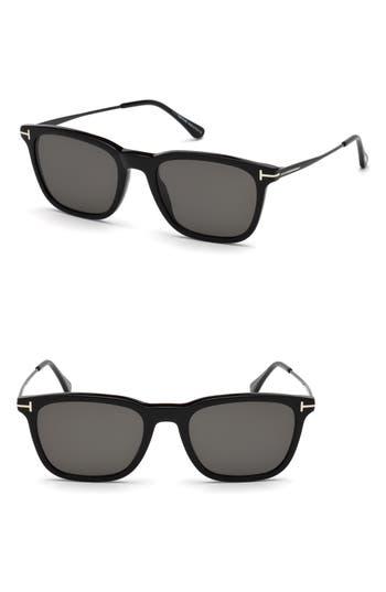 Tom Ford Arnaud 53mm Polarized Sunglasses