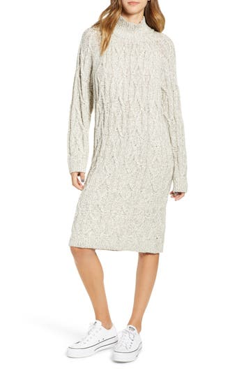 BP. Cable Knit Sweater Dress