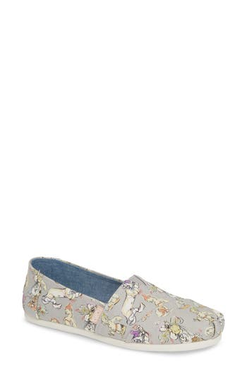TOMS X DISNEY GRAPHIC ALPARGATA SLIP-ON