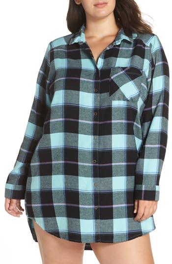 Make + Model Plaid Flannel Nightshirt