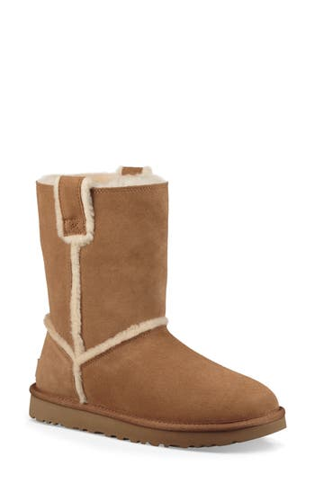 UGG® Classic Short Spill Seam Genuine Shearling Boot