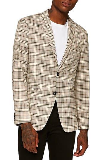 Topman Slim Fit Check Blazer