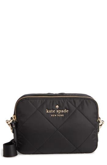 kate spade new york watson lane quilted amber nylon crossbody bag