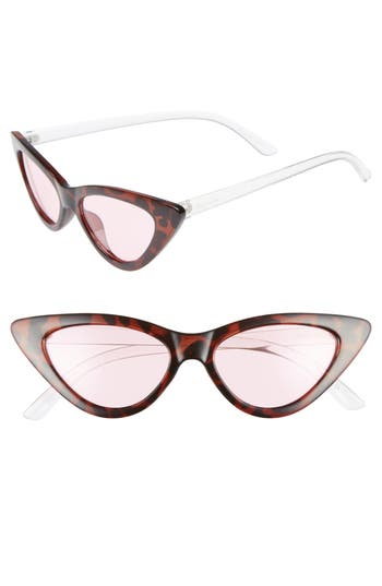 Circus by Sam Edelman 55mm Extreme Cat Eye Sunglasses