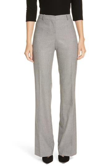 BOSS Tulea Blurred Optic Wool Suiting Trousers