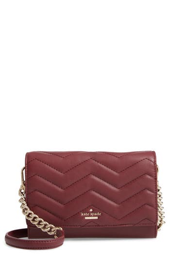 kate spade new york reese park – wyn quilted leather crossbody