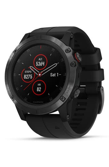Garmin fenix® 5x Plus Sapphire Premium Multisport GPS Watch, 42mm