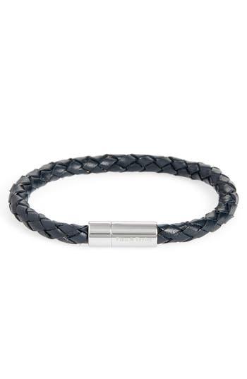 Finn & Taylor Braided Leather Bracelet