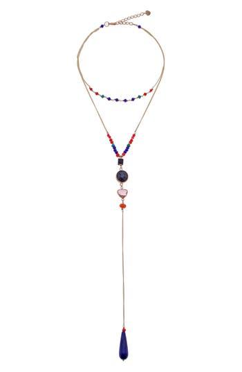 Nakamol Design Dual Layer Y Necklace