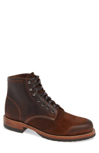 Wolverine 1000 Mile Evans Plain Toe Boot