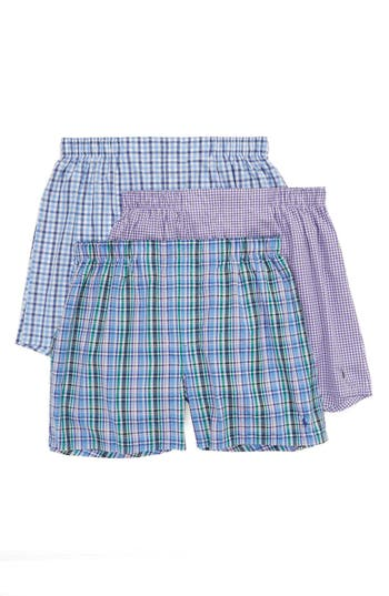 Polo Ralph Lauren 3-Pack Woven Boxers