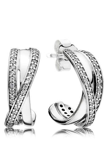 PANDORA Entwined Hoop Earrings