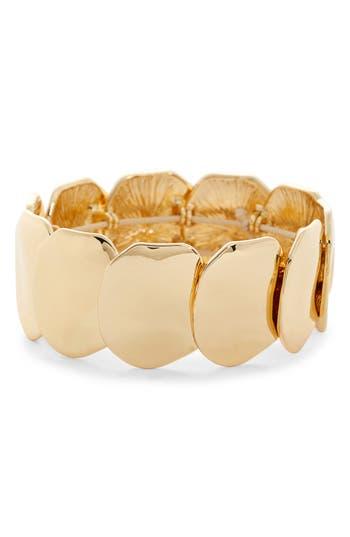 Halogen® Organic Disk Stretch Bracelet