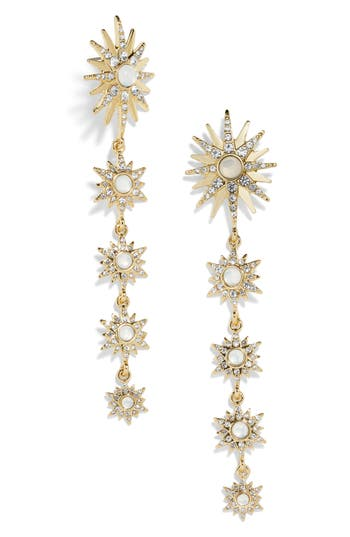 BaubleBar Celestial Linear Earrings