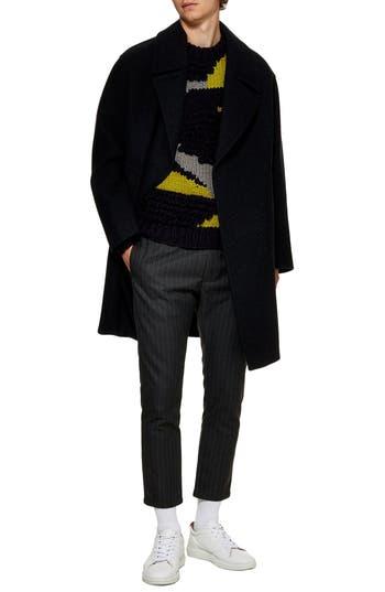 Topman Oversize Wool Blend Coat