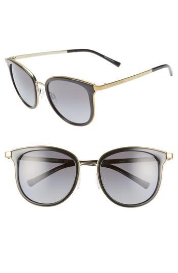 Michael Kors 54mm Polarized Gradient Round Sunglasses