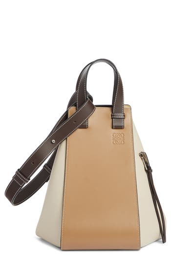 Loewe Small Hammock Tricolor Leather Hobo