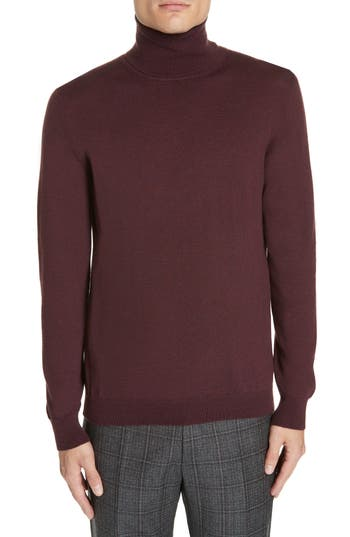 Eidos Merino Wool Turtleneck Sweater