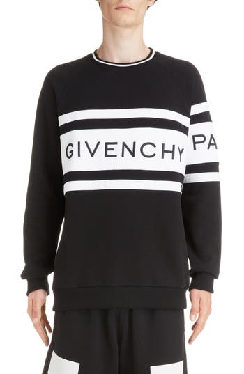 Givenchy Band Logo Longline Sweatshirt