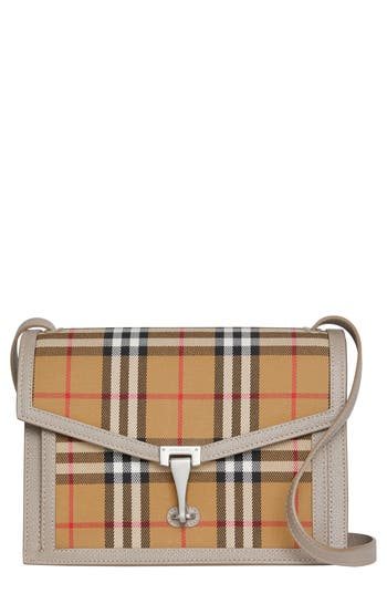 Burberry Small Macken Vintage Check Crossbody Bag