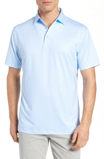 Peter Millar 42nd Print Stretch Jersey Performance Polo