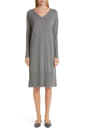 Lafayette 148 New York Cashmere & Silk Sweater Dress