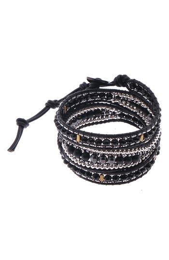 Nakamol Design Mixed Bead Wrap Bracelet