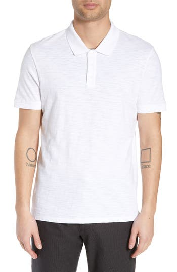 Vince Slub Regular Fit Polo Shirt