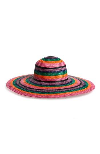San Diego Hat Stripe Wheat Straw Hat
