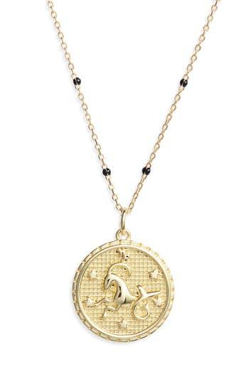 Argento Vivo Zodiac Pendant Necklace